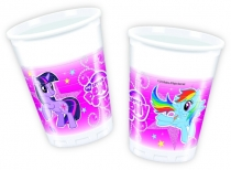My Little Pony Sparkle muovimukit, 8 kpl