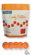 PME Candy Buttons, oranssi, 340 g