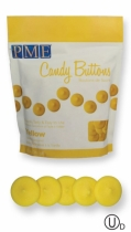 PME Candy Buttons, keltainen, 340 g
