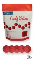 PME Candy Buttons, punainen, 340 g