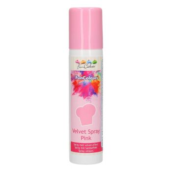 Funcakes Velvet spray vaaleanpunainen 100ml