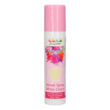 Funcakes Velvet spray valkosuklaa 100ml