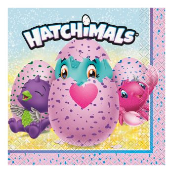 Hatchimals lautasliinat