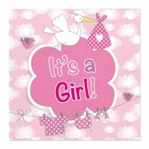 It's a girl lautasliina