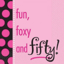 lautasliina 50 v fun foxy and fifty