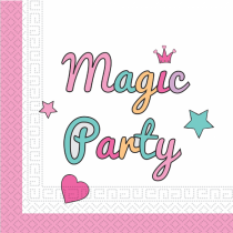 Magic Party yksisarvinen unicorn lautasliinat