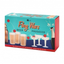 Beer vs Prosecco pong